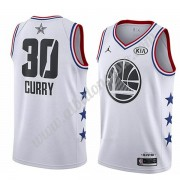Camisetas NBA Baratas Golden State Warriors 2019 Stephen Curry 30# Blanco All Star Game Swingman..